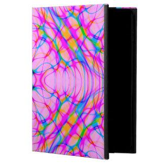 Capa Para iPad Air 2 Abstrato do teste padrão do caleidoscópio do rosa