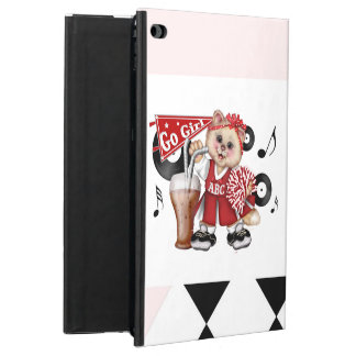 Capa Para iPad Air 2 Ar BONITO 2 do iPad do CHEERLEADER do CAT
