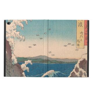 Capa Para iPad Air 2 Arte de Hiroshige do japonês do redemoinho de