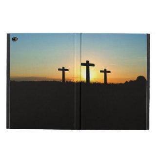 Capa Para iPad Air 2 As cruzes da crucificação no por do sol