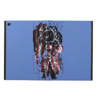 Capa Para iPad Air 2 Astronauta e bandeira americana