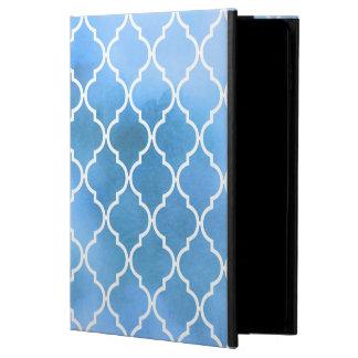 Capa Para iPad Air 2 Azulejos marroquinos, Latticework, aguarelas -