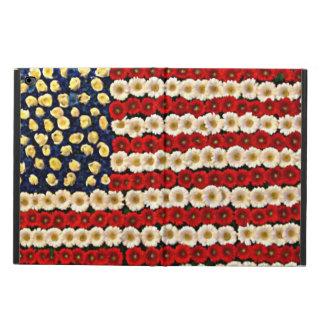 Capa Para iPad Air 2 Bandeira de flower power E.U.