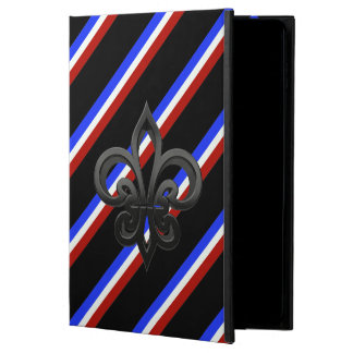 Capa Para iPad Air 2 Bandeira francesa das listras