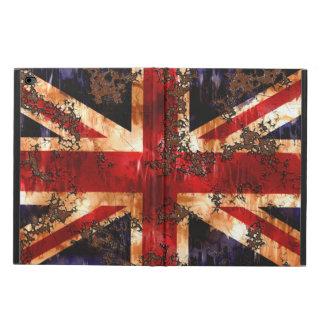Capa Para iPad Air 2 Bandeira patriótica oxidada de Reino Unido