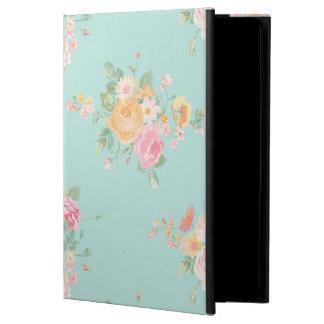 Capa Para iPad Air 2 bonito, hortelã, chique, chique do país, floral,