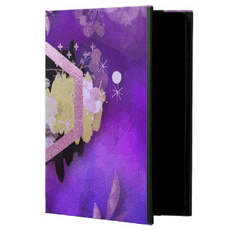 Capa Para iPad Air 2 bonito, ultravioleta, abstrato, colagem, prata, f