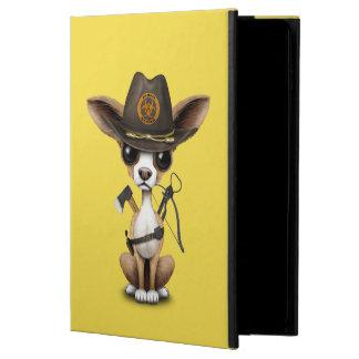 Capa Para iPad Air 2 Caçador bonito do zombi do filhote de cachorro da