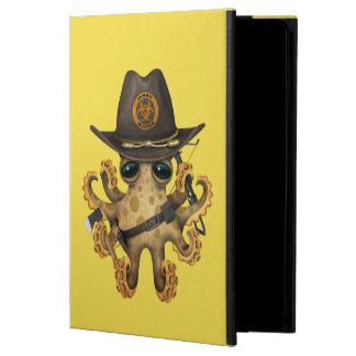 Capa Para iPad Air 2 Caçador bonito do zombi do polvo do bebê