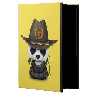 Capa Para iPad Air 2 Caçador do zombi do urso de panda do bebê