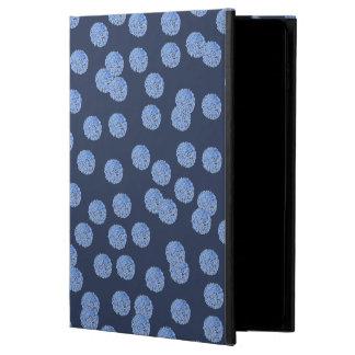 Capa Para iPad Air 2 Caixa azul do ar 2 do iPad das bolinhas sem