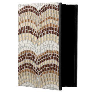 Capa Para iPad Air 2 Caixa bege do ar 2 do iPad do mosaico sem