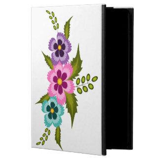 Capa Para iPad Air 2 Caixa colorida do ar 2 do iPad das flores