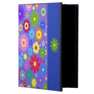 Capa Para iPad Air 2 Caixa colorida do ar de Ipad das flores
