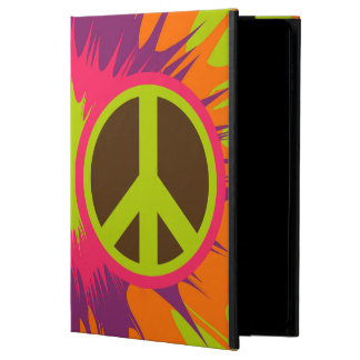 Capa Para iPad Air 2 Caixa do ar 2 do iPad do sinal de paz do Hippie do