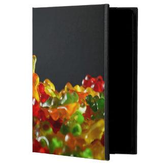Capa Para iPad Air 2 caixa gomosa do ar 2 do iPad do urso sem Kickstand