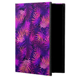 Capa Para iPad Air 2 Caixa tropical roxa cor-de-rosa do ar 2 do iPad de