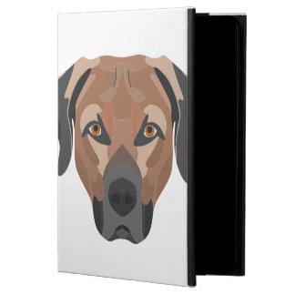 Capa Para iPad Air 2 Cão Brown Labrador da ilustração