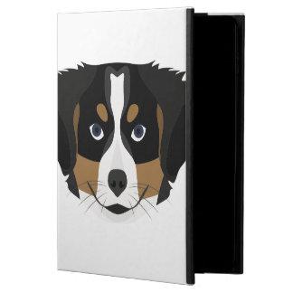 Capa Para iPad Air 2 Cão de montanha de Bernese da ilustração
