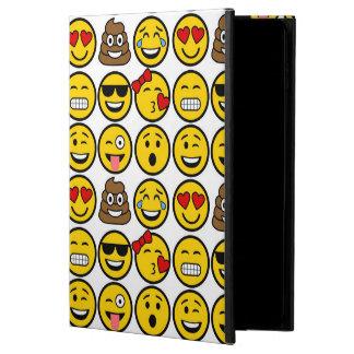 Capa Para iPad Air 2 Caras da emoção do teste padrão de Emoji do
