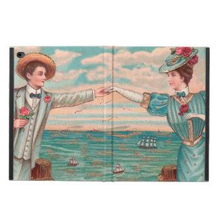 Capa Para iPad Air 2 Casal do casamento de praia do Victorian