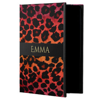 Capa Para iPad Air 2 Caso animal do iPad do impressão do leopardo
