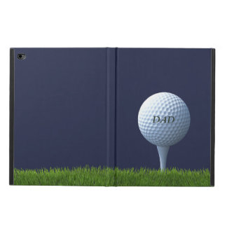 Capa Para iPad Air 2 Caso Golfing do iPad da bola de golfe do pai