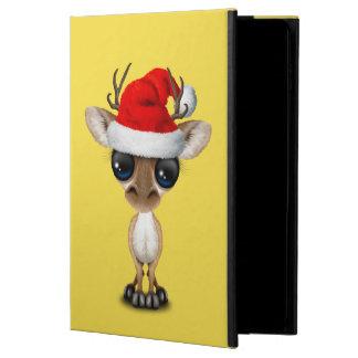 Capa Para iPad Air 2 Cervos do bebê que vestem um chapéu do papai noel