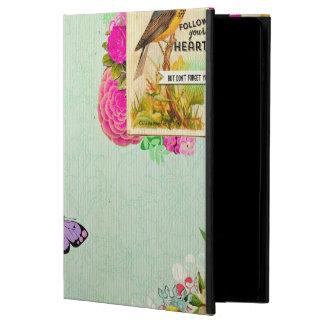 Capa Para iPad Air 2 Chique, chique francês, vintage, floral, rústico,