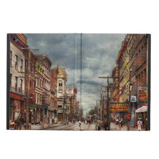 Capa Para iPad Air 2 Cidade - NY - o mercado nunca em mudança 1906
