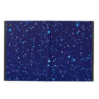 Capa Para iPad Air 2 Cintilação Stars2 azul - ipad Air2
