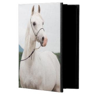Capa Para iPad Air 2 coleção do cavalo. branco árabe