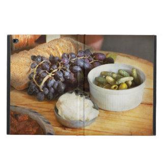 Capa Para iPad Air 2 Comida - fruta - pepino e uvas