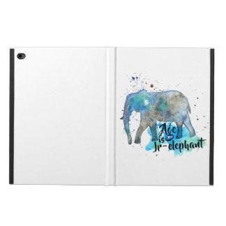 Capa Para iPad Air 2 Cor de água do elefante
