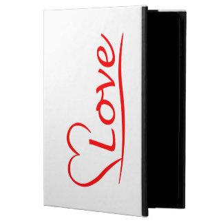 Capa Para iPad Air 2 Coração com amor