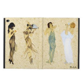 Capa Para iPad Air 2 Da arte retro de quatro senhoras do vintage estilo