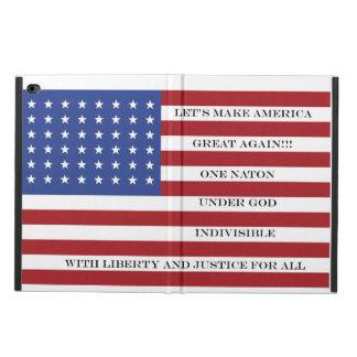 Capa Para iPad Air 2 Deixe-nos fazer outra vez o excelente de América!