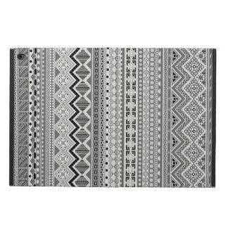 Capa Para iPad Air 2 Design asteca cinzento bonito dos padrões