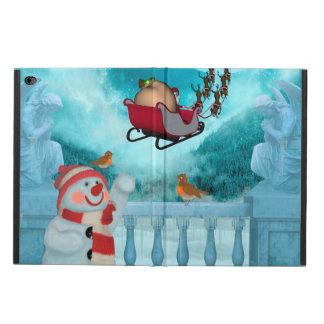 Capa Para iPad Air 2 Design do Natal, Papai Noel