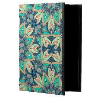 Capa Para iPad Air 2 Design floral do teste padrão do abstrato da