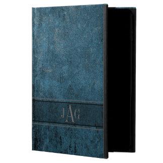 Capa Para iPad Air 2 Design rústico do livro azul do Grunge