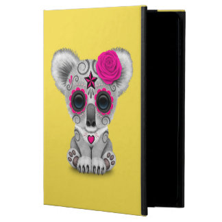Capa Para iPad Air 2 Dia cor-de-rosa do Koala inoperante do bebê