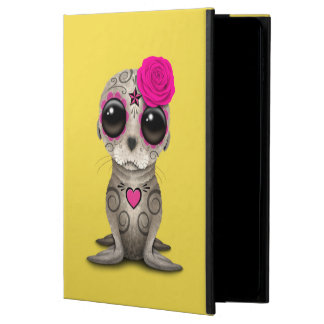 Capa Para iPad Air 2 Dia cor-de-rosa do leão de mar inoperante do bebê