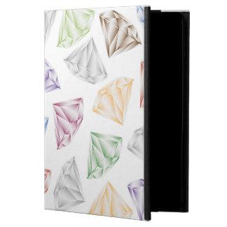 Capa Para iPad Air 2 Diamantes coloridos para meu querido