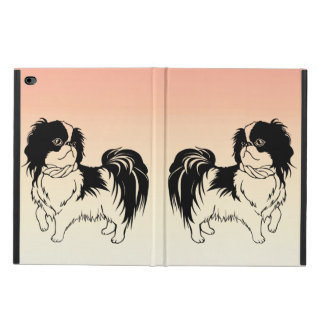 Capa Para iPad Air 2 Dois cães bonitos no iPad alaranjado arejam a