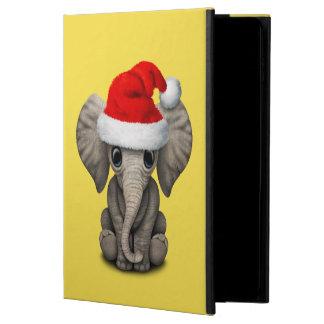 Capa Para iPad Air 2 Elefante do bebê que veste um chapéu do papai noel