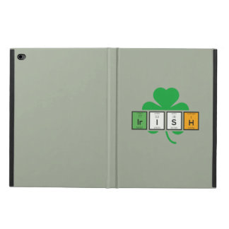 Capa Para iPad Air 2 Elemento químico Zz37b do cloverleaf irlandês