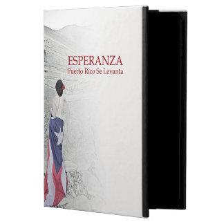 Capa Para iPad Air 2 Esperanza - imagem com texto