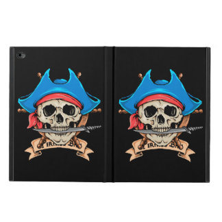 Capa Para iPad Air 2 Faca cortante do crânio do pirata