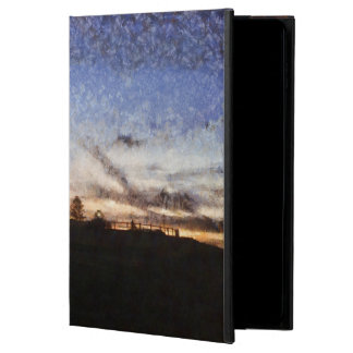Capa Para iPad Air 2 Farol no por do sol